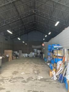 白石区菊水のリサイクルセンター内倉庫の様子